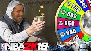 NBA 2K19 WHEEL OF WELFARE! Broke boy edition