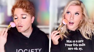 Shane Dawson Follows My Makeup Routine!