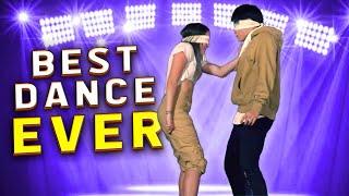 BLINDFOLD DANCE CHALLENGE ft Sean & Kaycee