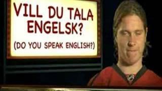 Nicklas Backstrom - Swedish Language Class 1