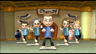 Wii Fit Plus Gameplay: Rhythm Kung Fu