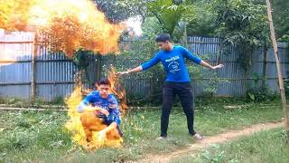 Two Brother - Bengali Funny Action Video in agartala tripura  - [Bengali] - RP Graphics Video