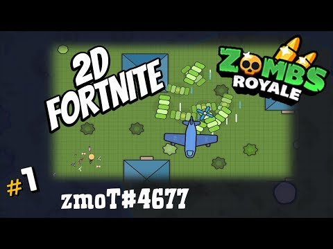 New Mobile Game - ZOMBS Royale + Fortnite.io - Let's Play!