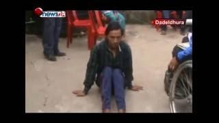 डडेल्धुरामा अपाङ्गता भएका जयबहादुर बाग आफ्नै घरबाट निकालिए - NEWS24 TV