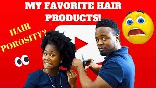 My favorite Natural Hair Products | Let's Talk About Natural Hair Ep. 1