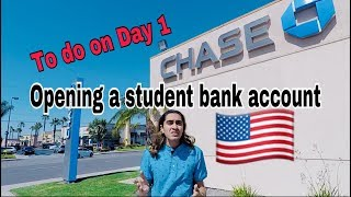 Things to do on Day 1 in USA PART 1    BANK ACCOUNT   International Student