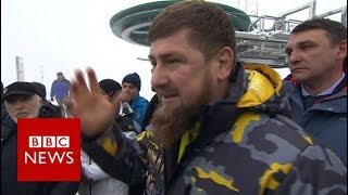 Chechen leader Ramzan Kadyrov questioned on