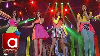 Kathryn, Julia, Liza, Janella charm on ASAP stage