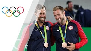 Johnson and Sock win Men's Doubles Tennis bronze for the USA