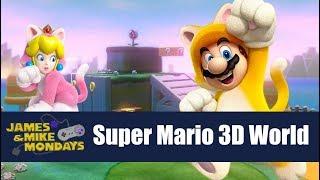 Super Mario 3D World - Mystery Box Marathon (Wii U) James & Mike Mondays