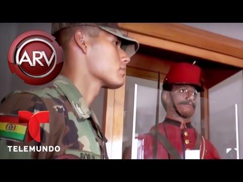 Temen a maniquí diabólico en una escuela militar de Bolivia Al Rojo Vivo Telemundo