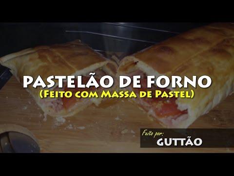 PASTELÃO DE FORNO de Massa de Pastel 003 Blog do Guttão