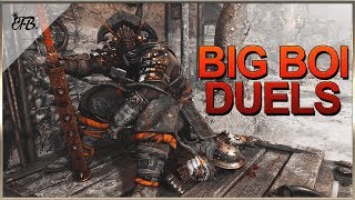 For Honor - Centurion Fails Infinite Combo and Gets Eaten By Big Boi!