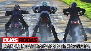 Comparativo: Ducati Diavel x Triumph Rocket III x Harley-Davidson V-Rod