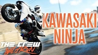 KAWASAKI NINJA H2 CIRCUIT | The Crew Wild Run Gameplay w/ The Nobeds
