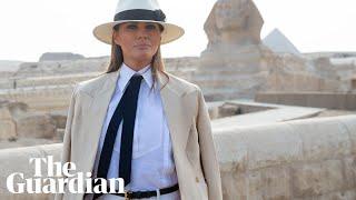 Melania Trump praises Kavanaugh but says