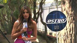 Entrevista Miss Colombia 2015 Ariadna Gutierrez en Estilo RCN
