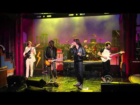 HQ The Strokes Taken For A Fool 3 23 Letterman TheAudioPerv