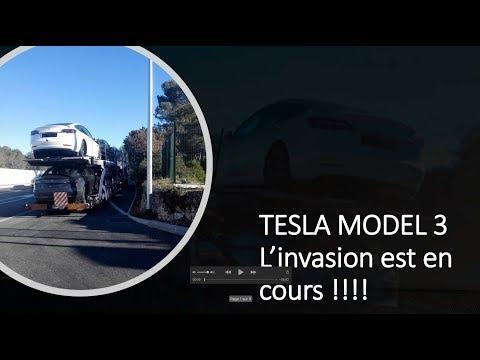 Xxx Mp4 L Invasion Des Tesla Model 3 Est En Cours 3gp Sex
