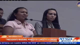 Madre de joven asesinado por militares venezolanos pidió a Maduro que ponga su cargo a la orden