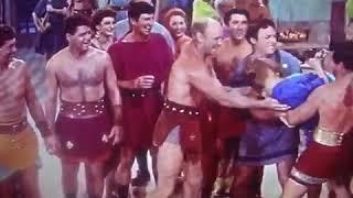 Scene from Demetrius and the gladiators
