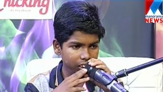 Haneesh the winner for mimicry in high school section  | Manorama News
