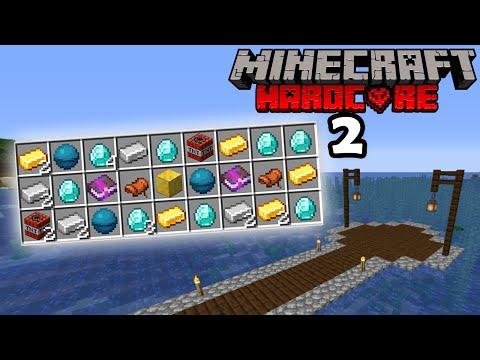 INSANE Ocean Loot Minecraft Hardcore EP2