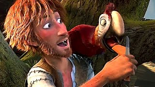 ROBINSON CRUSOE Bande Annonce VF (Animation - 2016)