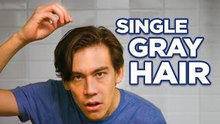 Hair Dye for a Single Gray Hair