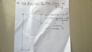 full sleeve churidar and 3/4 sleeve churidar cutting and stitching easy method