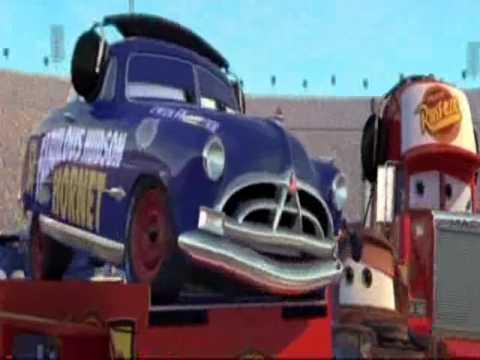 disney pixar movie cars funny scene