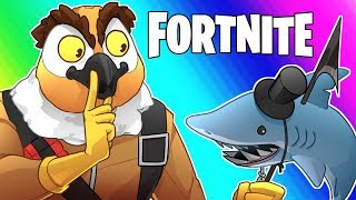 Fortnite Funny Moments - Hiding Tactics! (50v50)