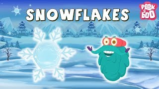 SNOWFLAKES - Dr Binocs | Best Learning Videos For Kids | Dr Binocs | Peekaboo Kidz