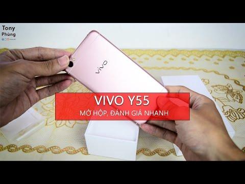 [Smartphone] - Mở hộp, đánh giá Vivo Y55 - Thiết kế đẹp, selfie ngon giá dưới 4 triệu - Tony Phùng