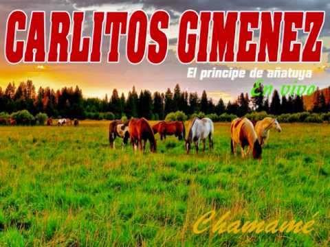 Carlitos Gimenez en vivo