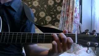 How to play Cody Simpson Sinkin' In on Guitar (Easy Songs)