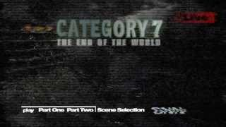 Category 7: The End of the World (2005) - DVD menus