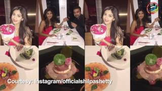 Aww Shilpas hubby Raj gives a memorable surprise