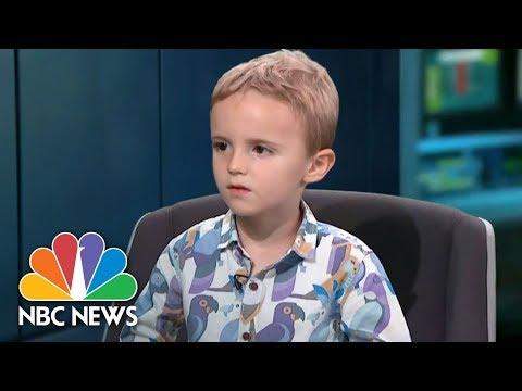 Xxx Mp4 Adorable Toddler Goes Rogue During Live TV News Bulletin NBC News 3gp Sex