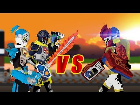【仮面ライダーエグゼイド】PIVOT Kamen Rider PARA-DX VS Brave and Snipe