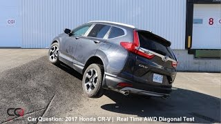 Real Time AWD Diagonal Test  2017-2019 Honda CR-V | The MOST complete review: Part 6/8