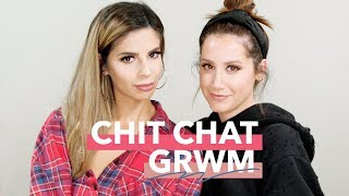 Chit Chat GRWM ft. Laura Lee | Ashley Tisdale