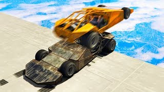 EXTREME RAMP CAR SKY DERBY! (Gta 5 Funny Moments)