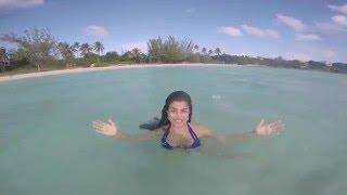 Shenaz in Eluthera Island Hot Bikini