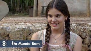 Êta Mundo Bom!: Capítulo 50 da novela, terça, 15 de março, na Globo