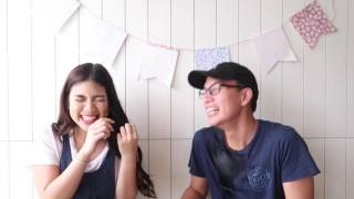 Try Not To Laugh Challenge ft. My Brother! | Janina Vela