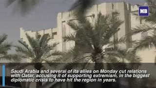 Saudi Arabia cuts Qatar ties in diplomatic crisis