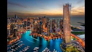 The Marina Walk - The Amazing Dubai ドバイマリーナ