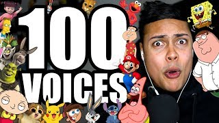 100 FUNNY IMPRESSIONS IN 10 MINUTES !!!