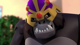 LEGO® DC Comics Super Heroes: Justice League vs. Bizarro League - Gorilla Grodd Clip